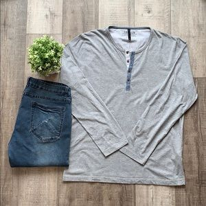 JACK & JONES LS HENLEY